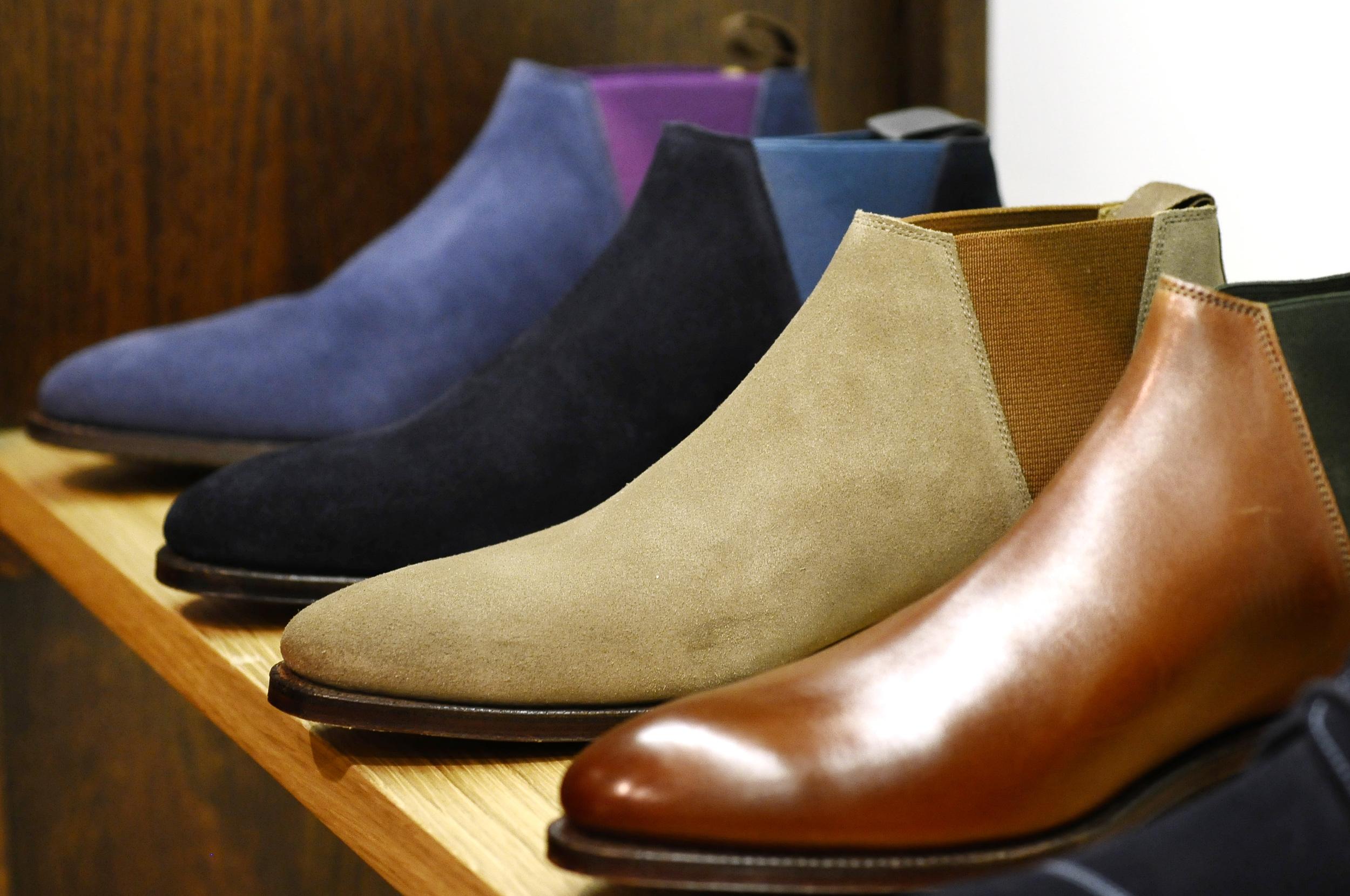 Stylish retro boots by CROCKETT & JONES