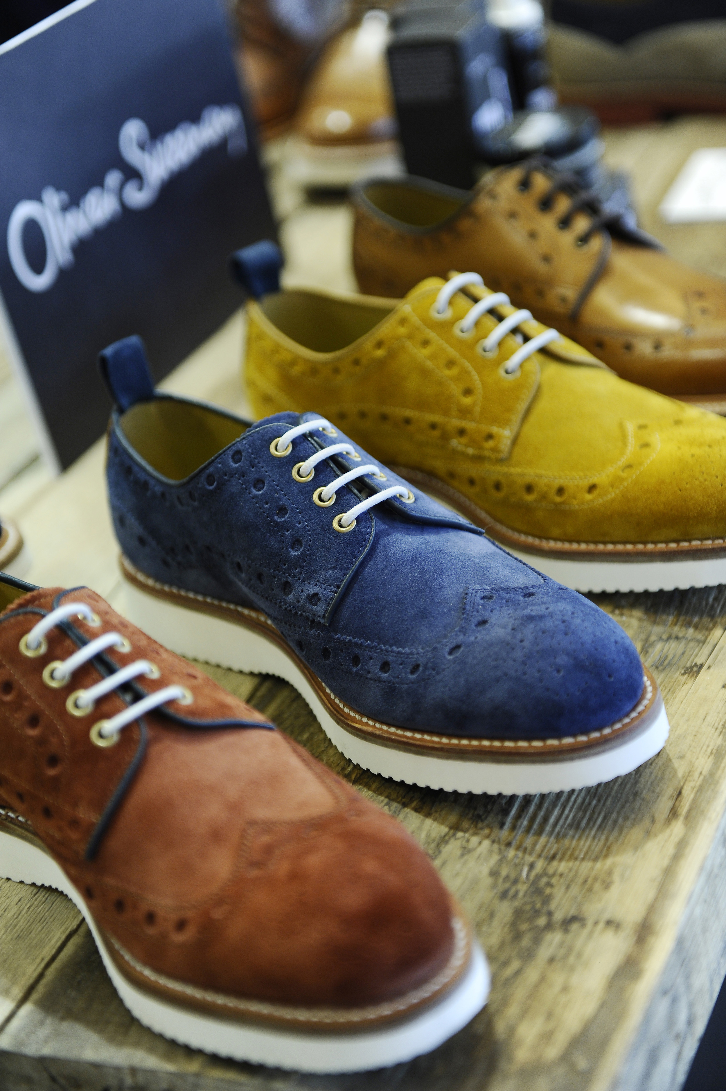 Contemporary derby shoes by OLIVER SWEENEY