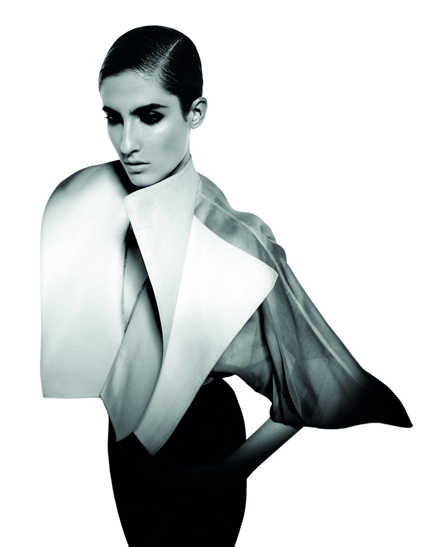 'Sailor Glam' shirt, Gianfranco Ferré Spring/Summer 1982 collection (Photography Luca Stoppini)