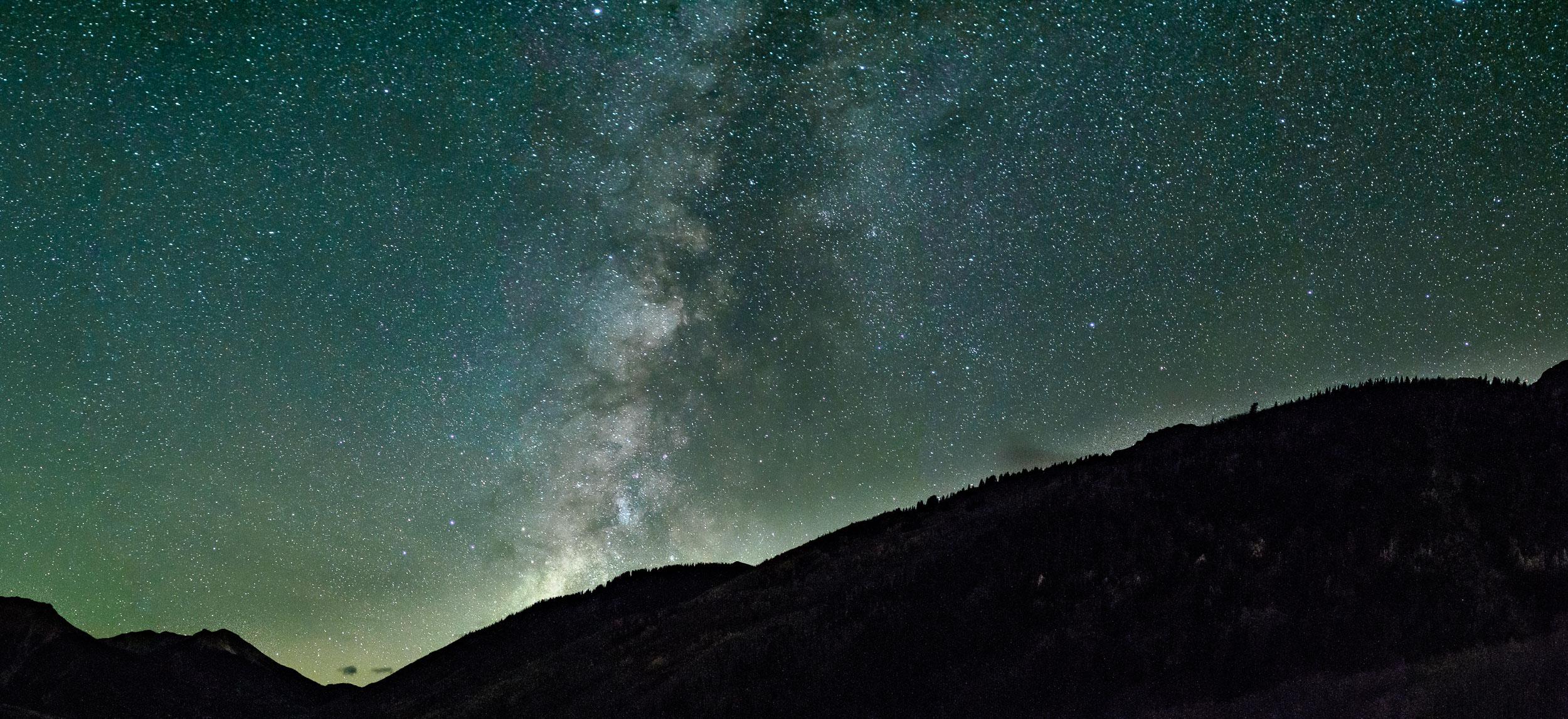 Milky Way at Crystal Lake