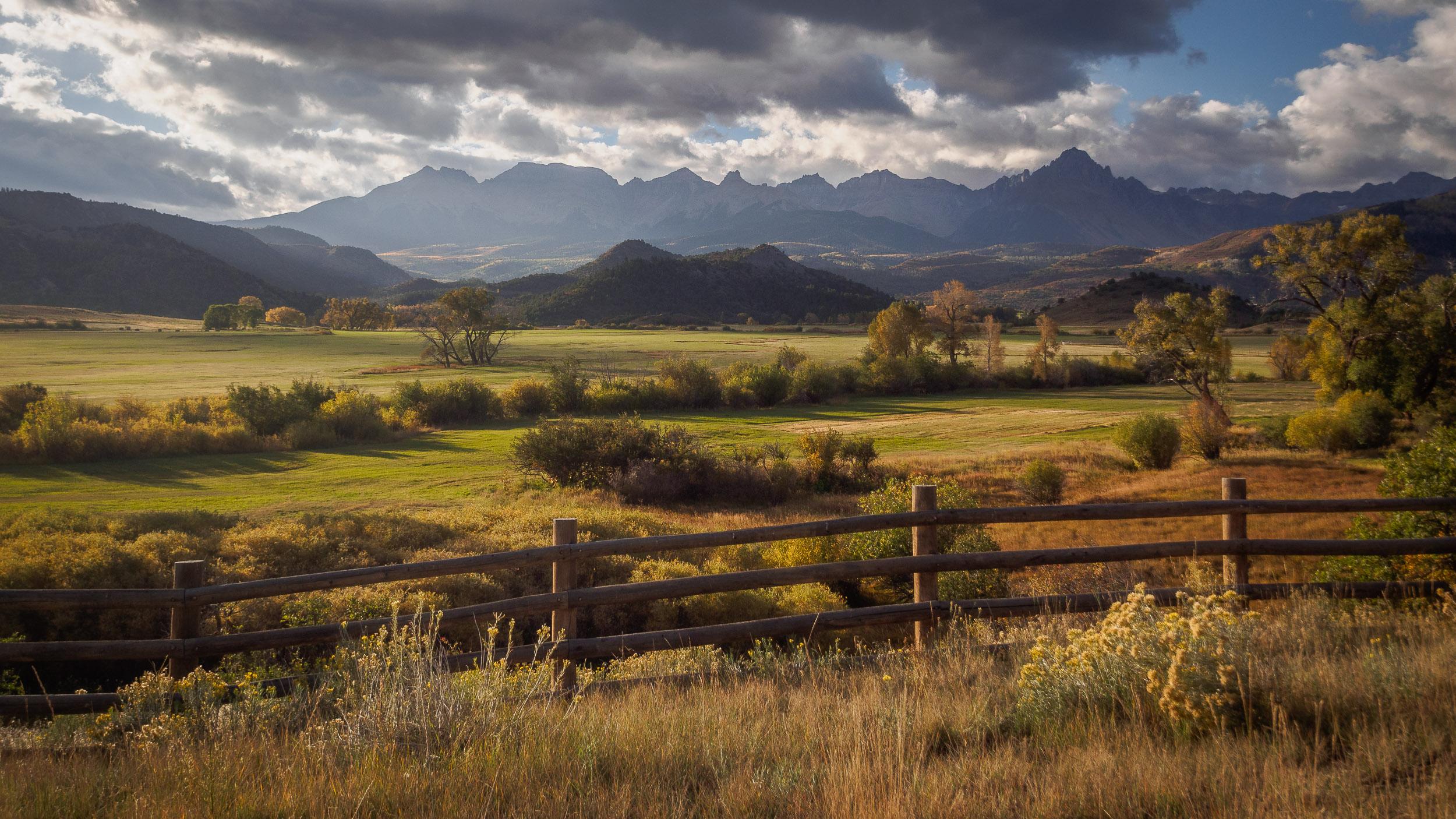 Ralph Lauren's ranch near Ridgway, CO.