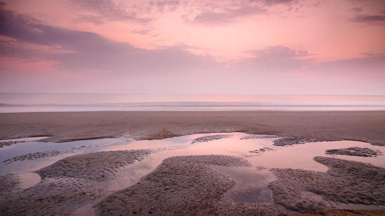 Sunrise at Nag's Head, Outer Banks, North Carolina.