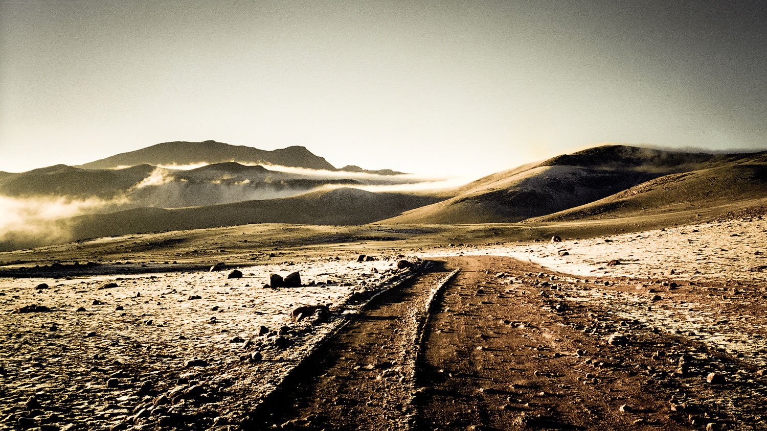On the Bolivian altiplano, 1999.