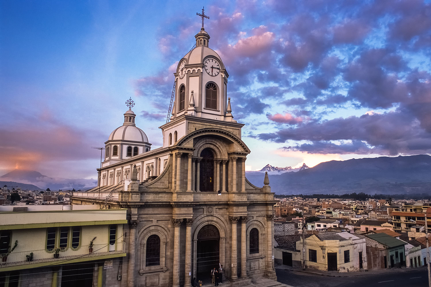 The Church and the Volcano