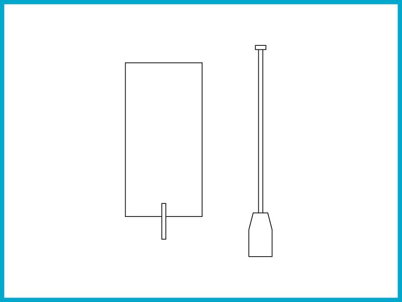 いかだ(5号) - スタイロフォームとベニヤ板を使った簡易いかだ。川を移動できる。改造可能。
