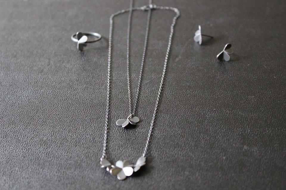 #leifoojewelry    #jewelry    #oxidezedjewelry    #style  #delicate    #clovers    #collection