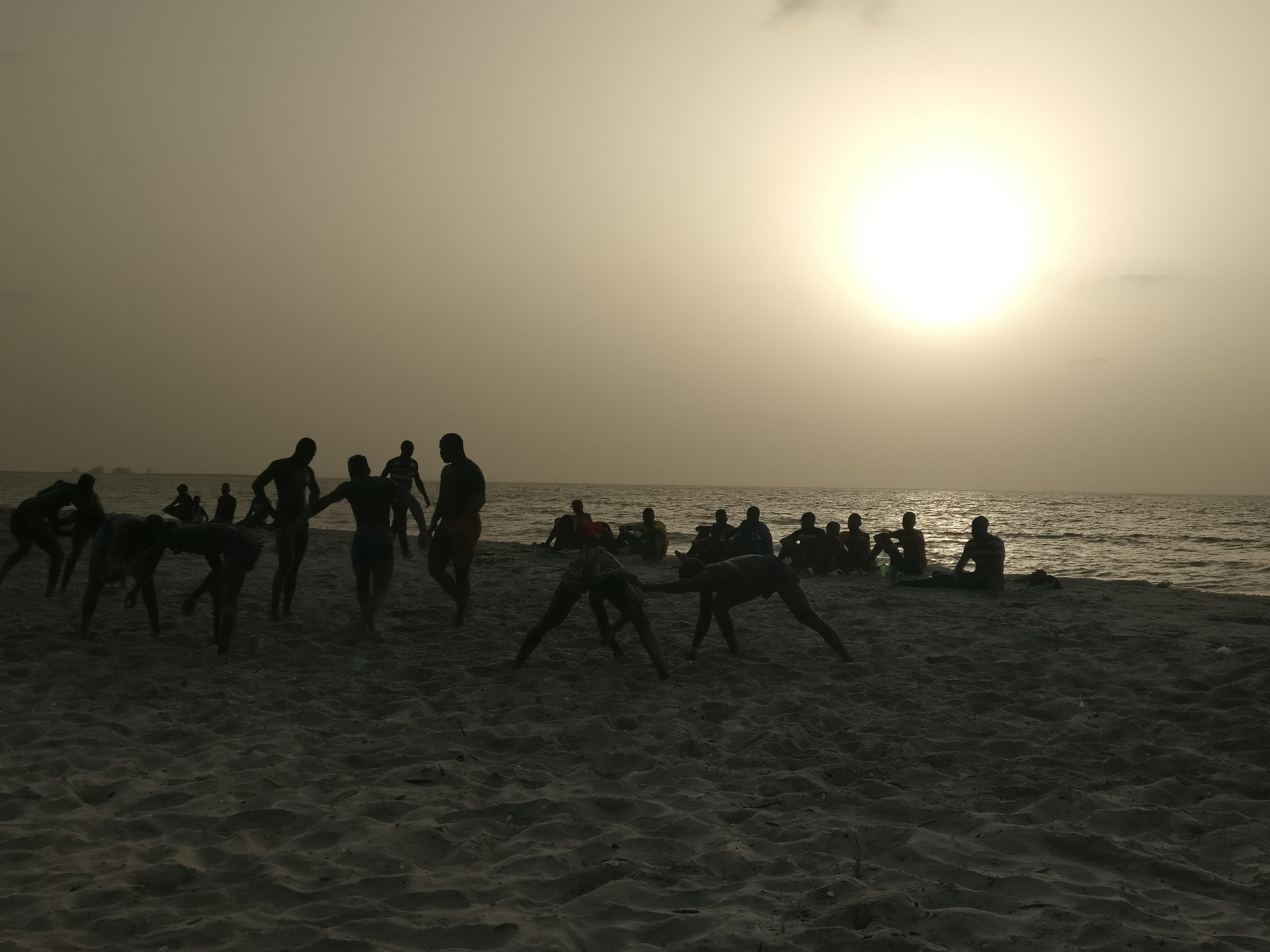 Senegalese traditional wrestling matches, Sine saloum, Senega.jpg