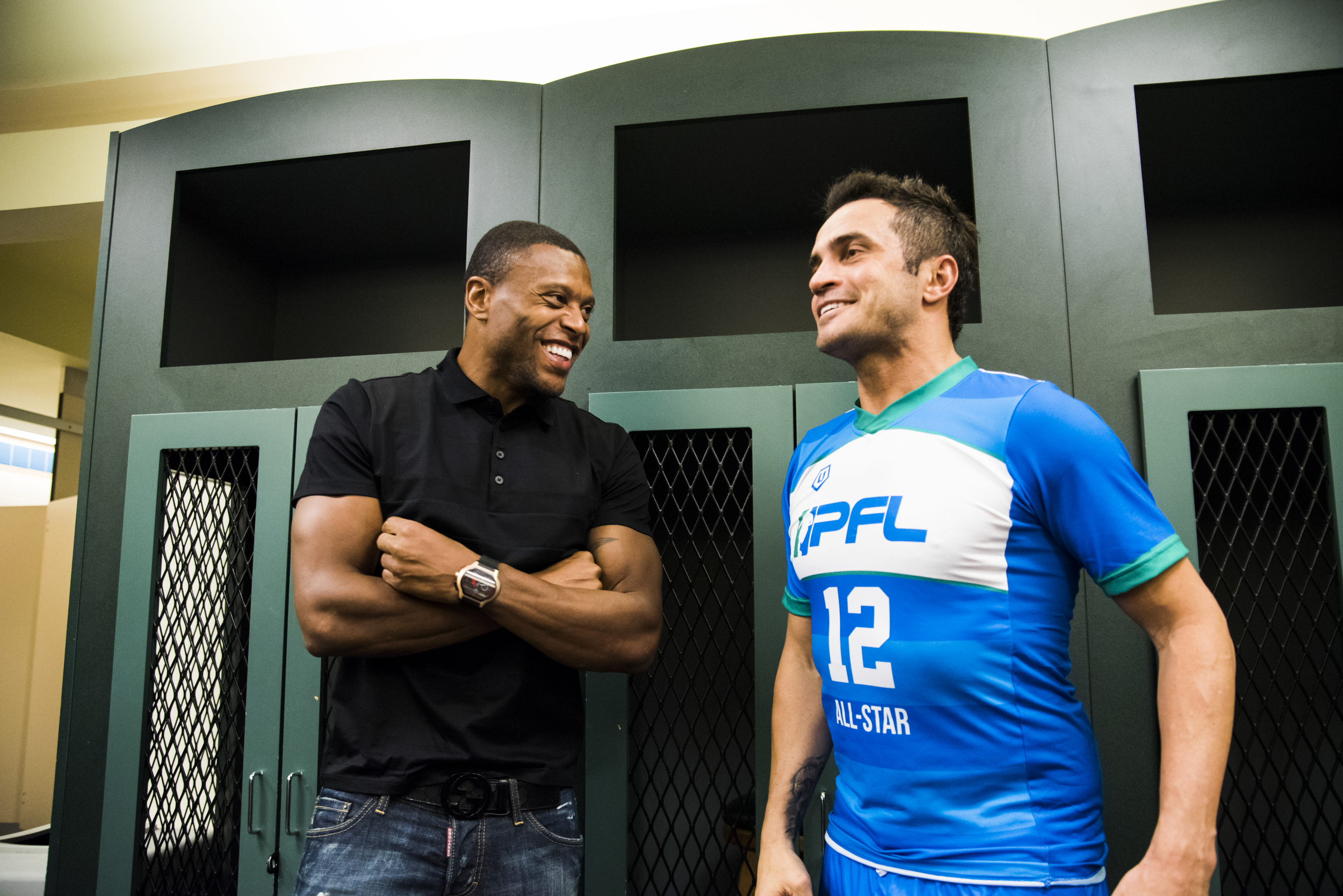 Orlando City's,Júlio Baptista was also there to support his friend Falcão.