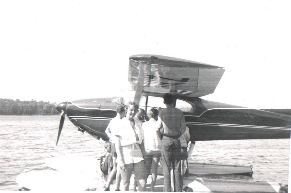 Jack Neville's airplane