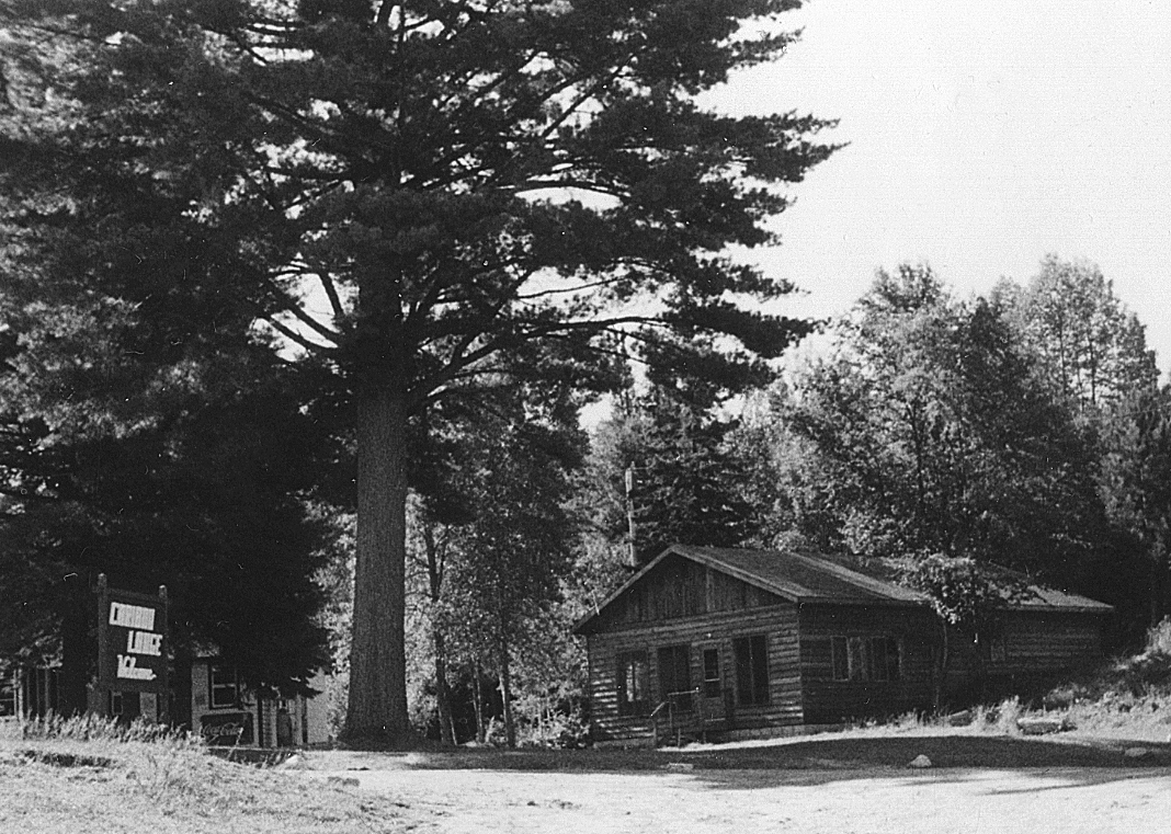 Caribou Lodge rec hall 1976