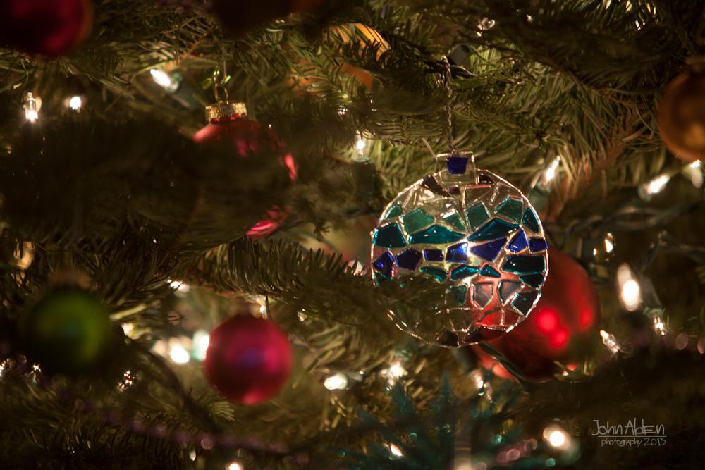 Transparent ornament