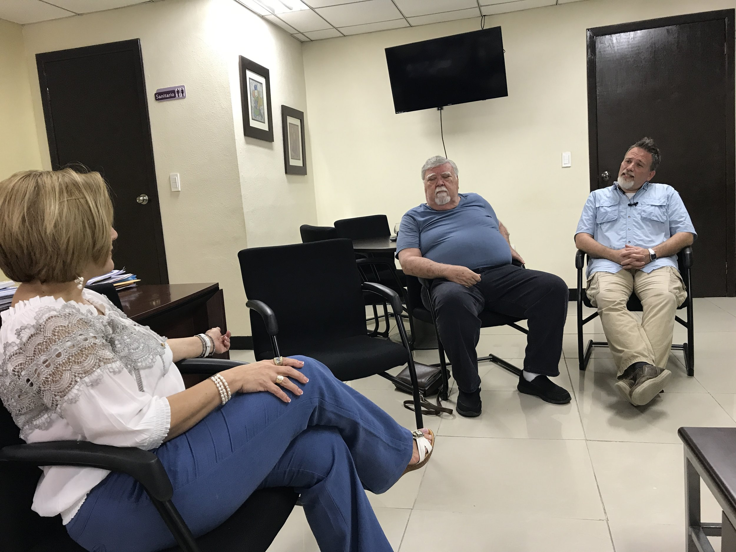 Meeting with Hospital Director