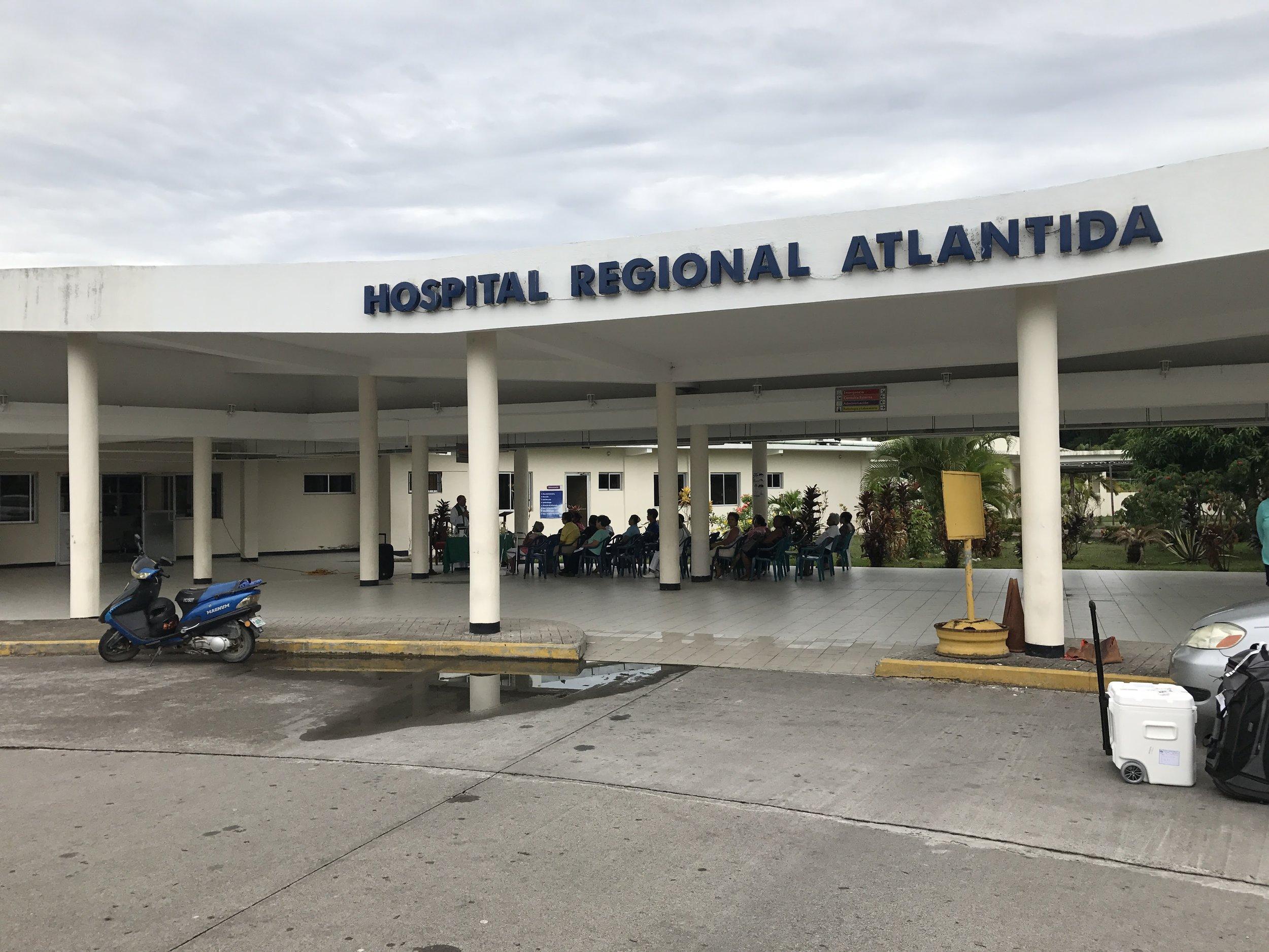 Regional Hospital in La Ceiba