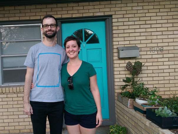 Moving into our Austin rental, October 2016