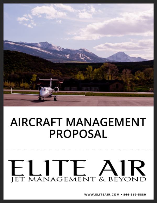 Email charter@eliteair.com to receive a customized Management Proposal today.