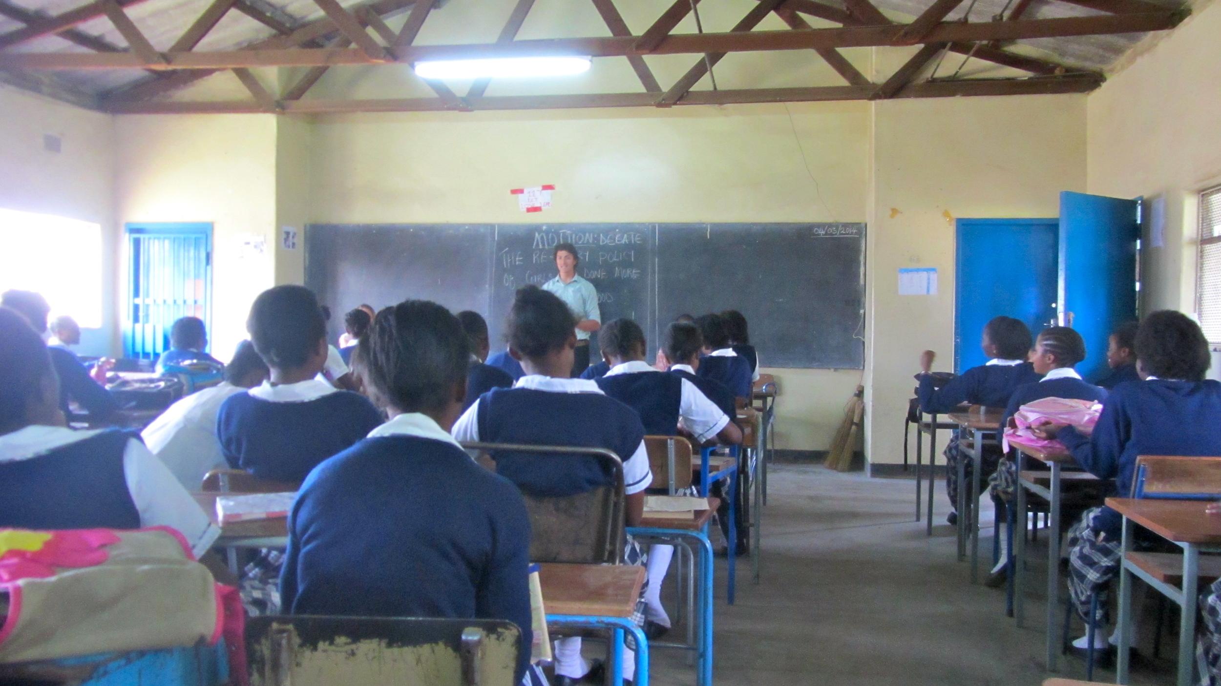 Chris introducing speach teaches