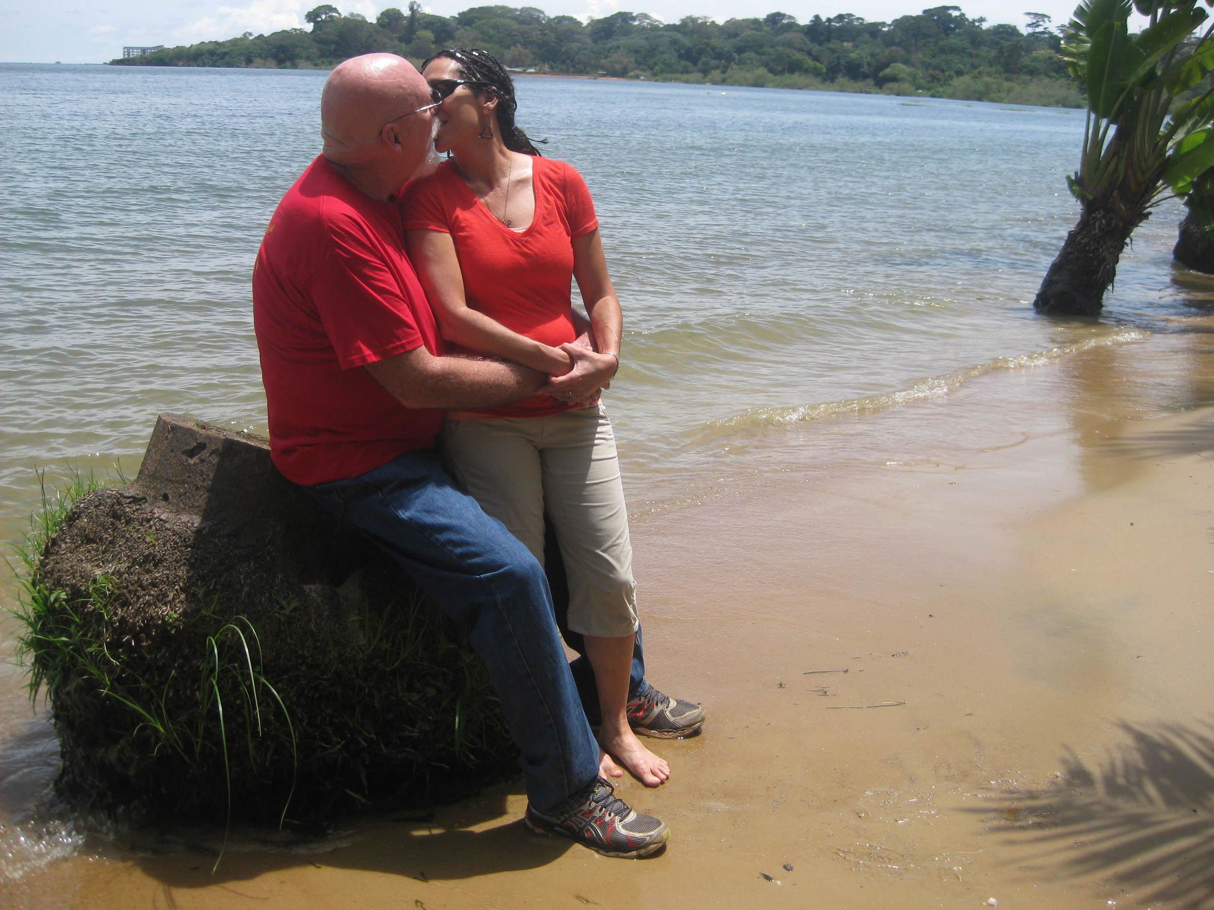 lakeside kiss.JPG