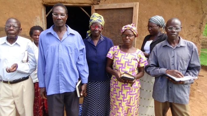 osia Dec 15 The Church leaders from home village church who recieved the glasses.2.JPG