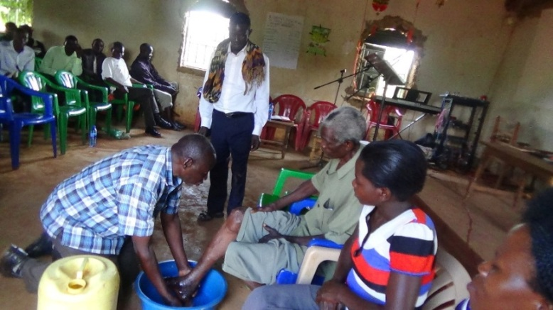 busia Pr John foot washing.JPG