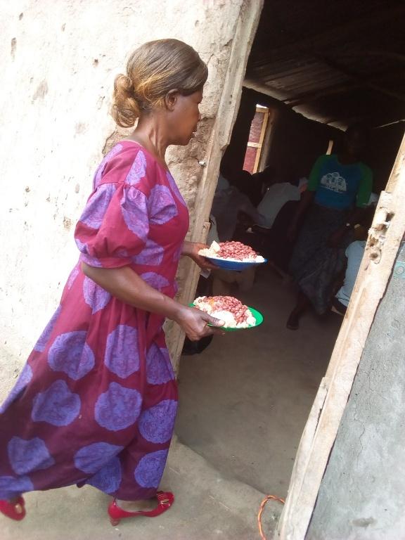 Buwanga Lunch time during our evenglism week in Buwanga village.14.jpg