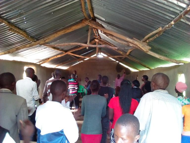 Buwanga Teaching seminar in progress at Buwanga Church of Jesus Christ.(the new branch church)1.jpg