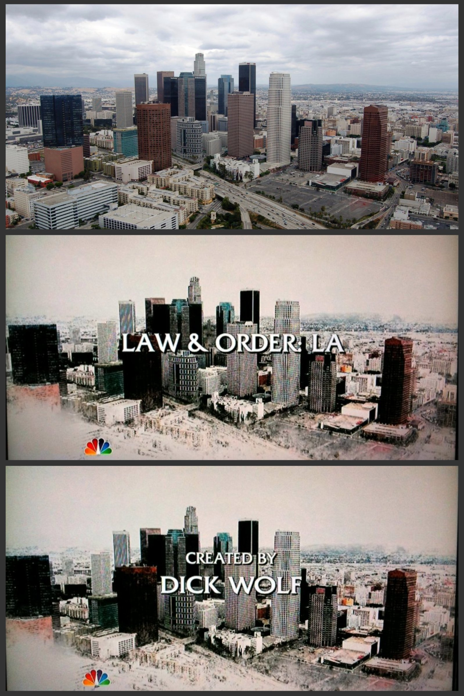 Main Titles,  Law & Order: Los Angeles