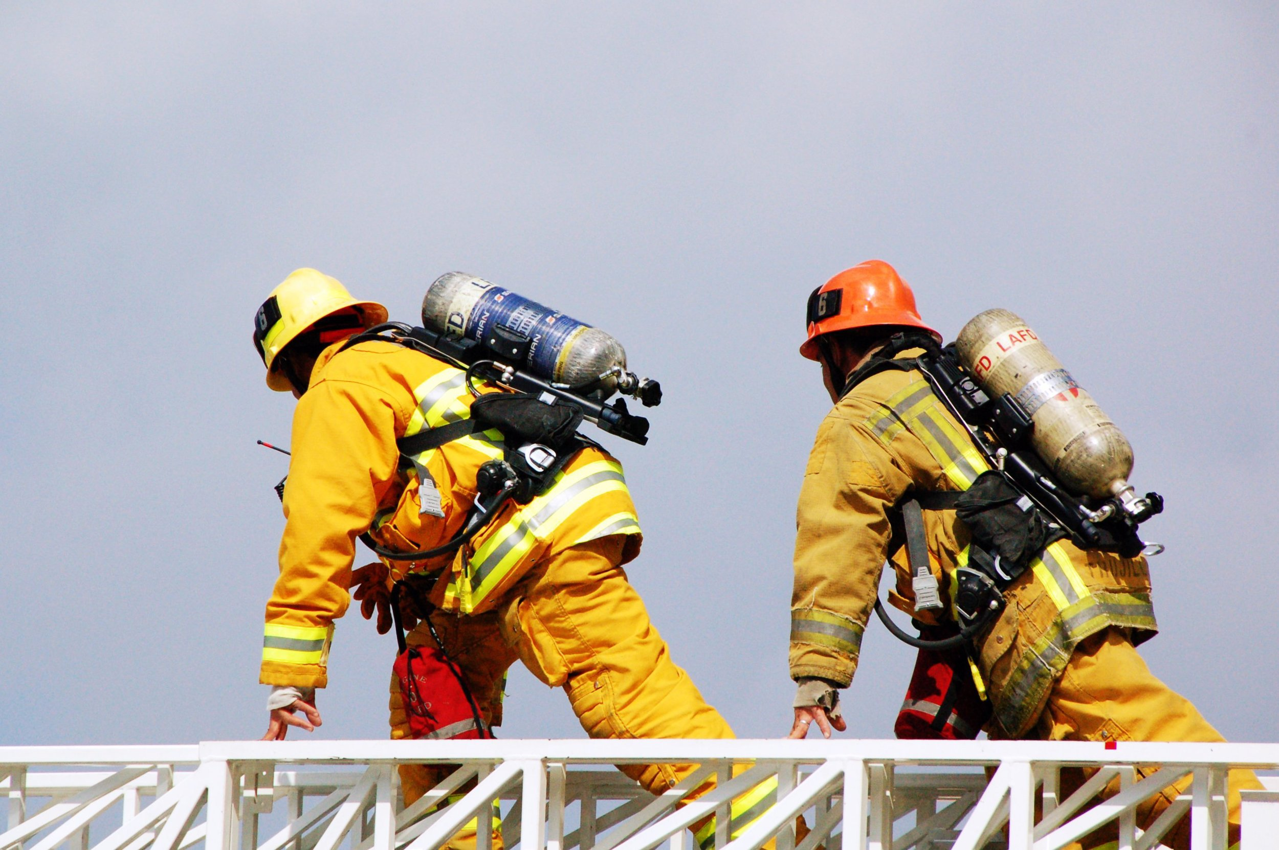 Firefighters/climbers