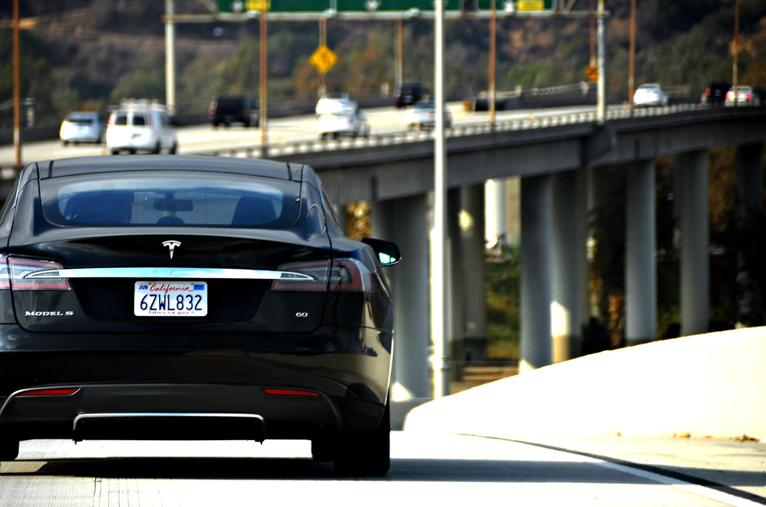 Tesla not on fire