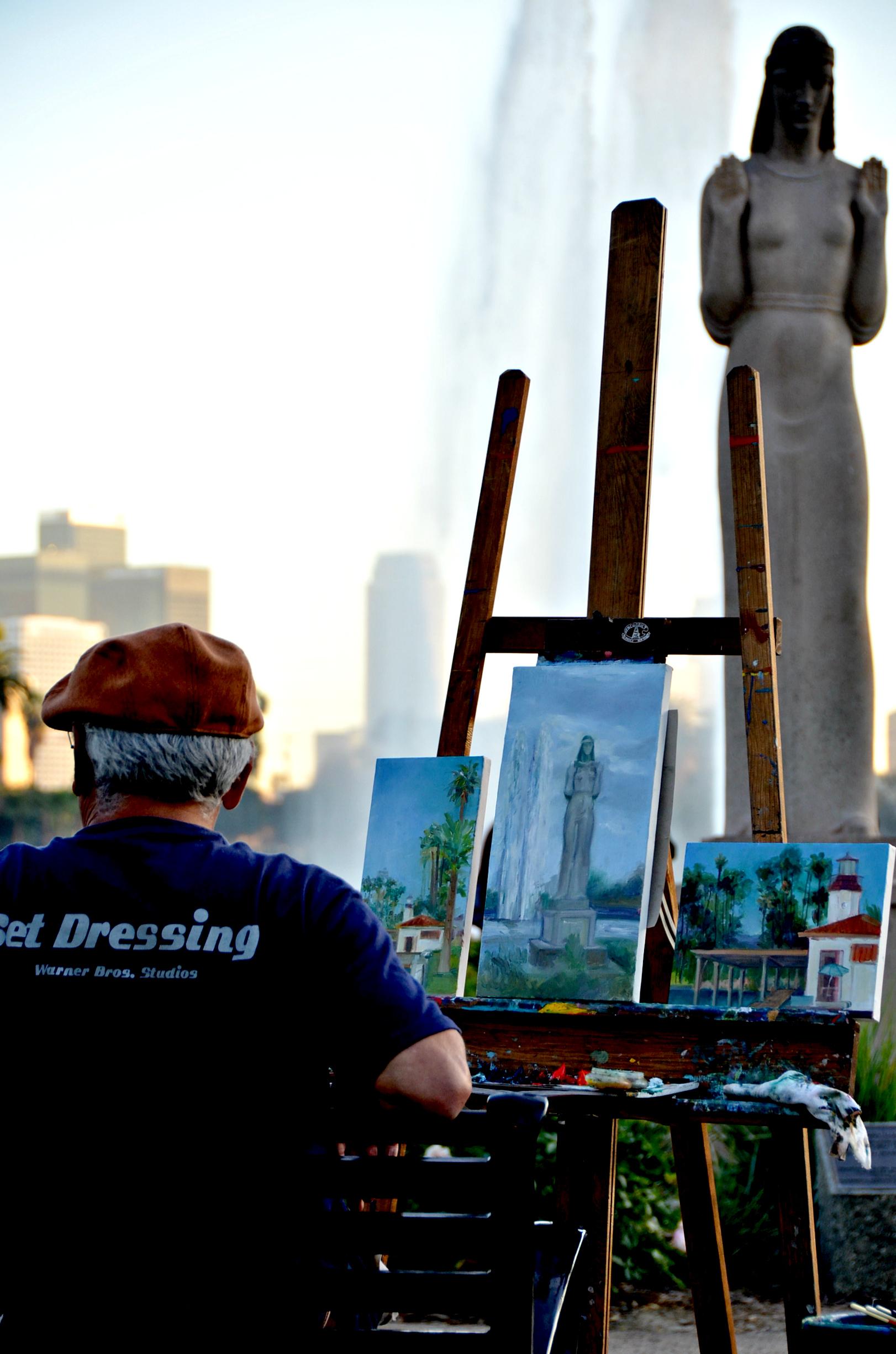 Set Dressing the Statue