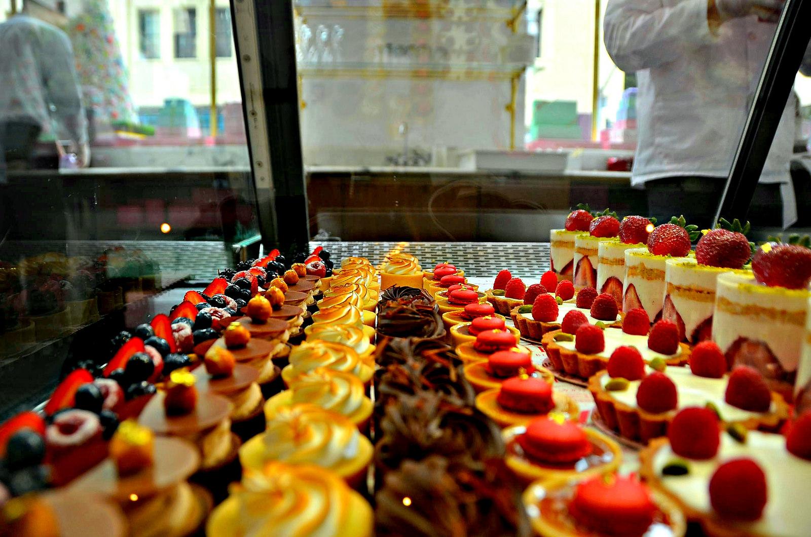 Bottega Louie dessert case