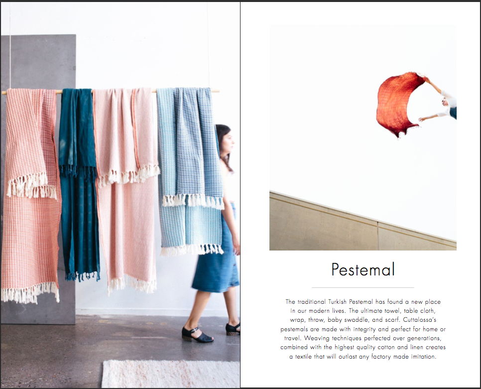 Pestemal Chapter from FW16 Catalog   Photo by   Louie Kovatch   | Layout by   Elena Polson