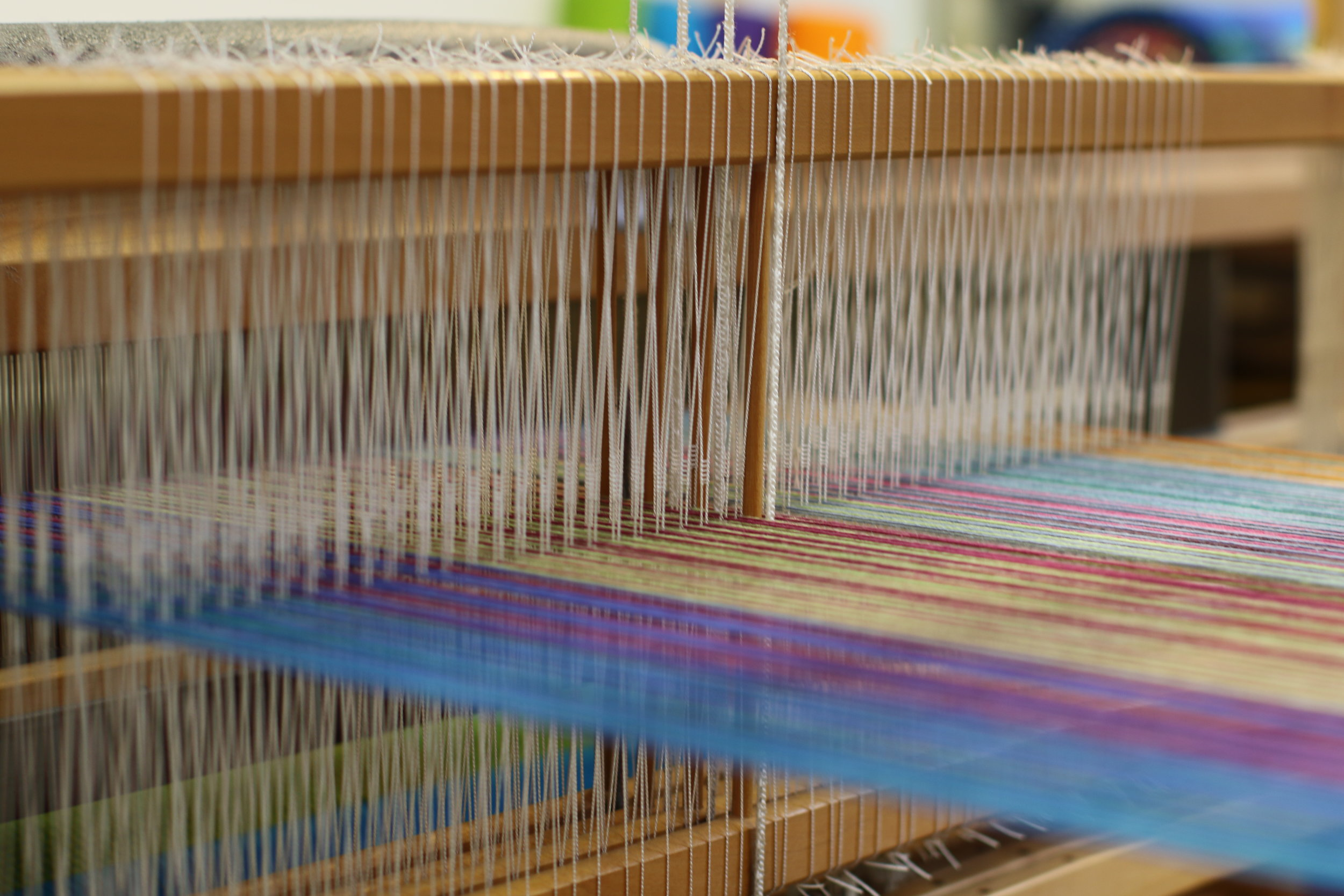 C.Mills Studio visit - Loom Close up.JPG