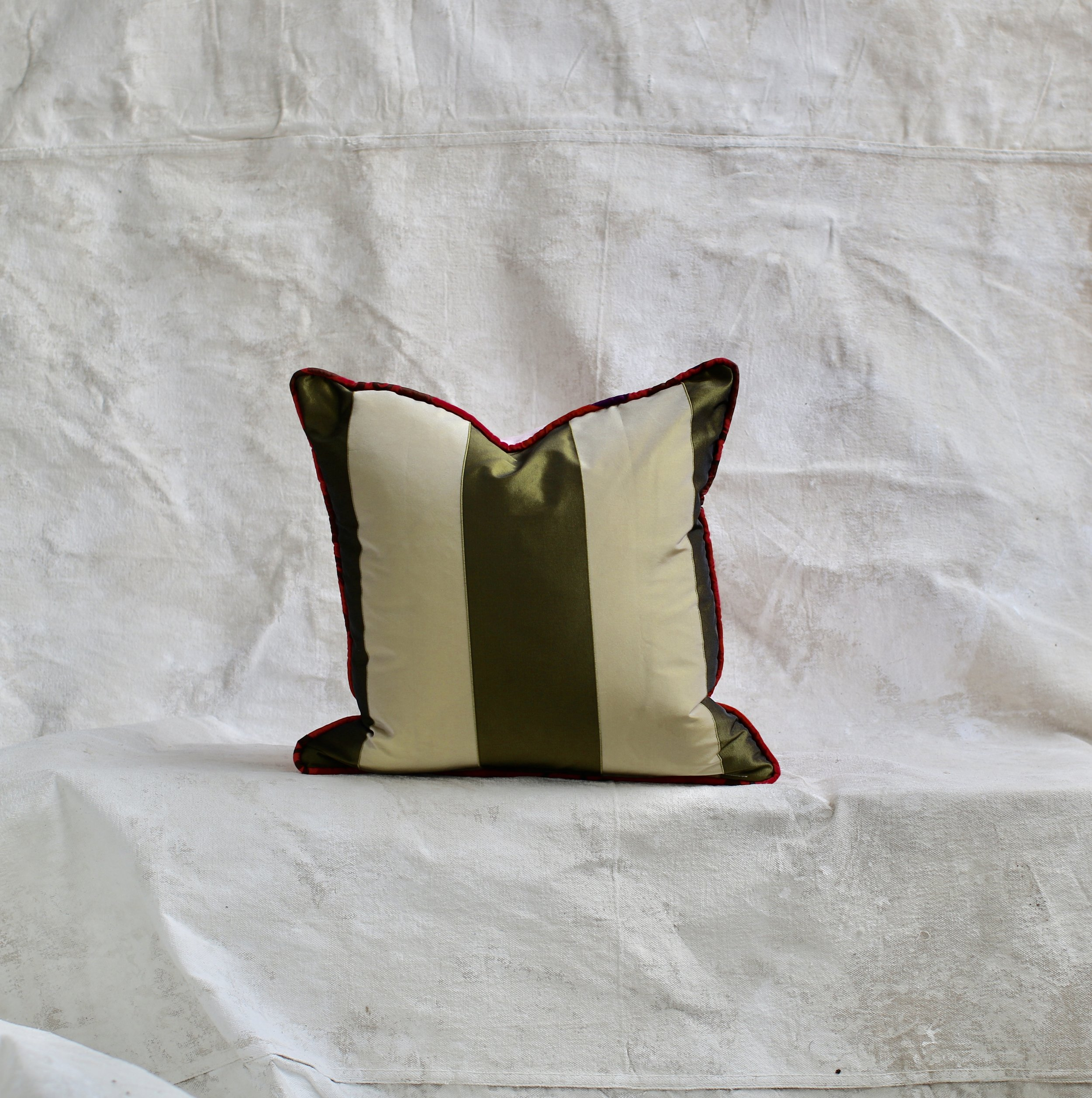 Throw Pillow No. 30 - Handcrafted by Molly Ward Pillows $98