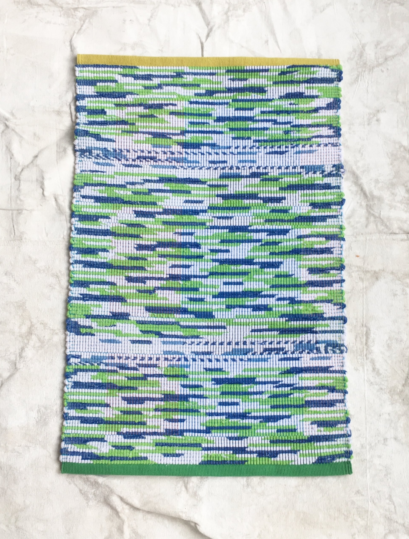 Rag Rug made in collaboration with Claudia Mills - $225