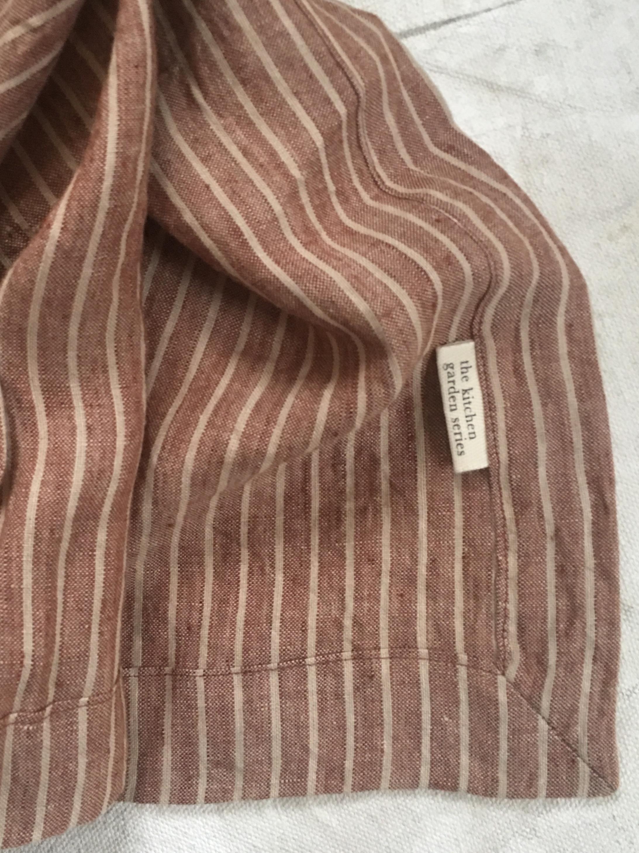 Wheat & wine pure linen tablecloth $58.00