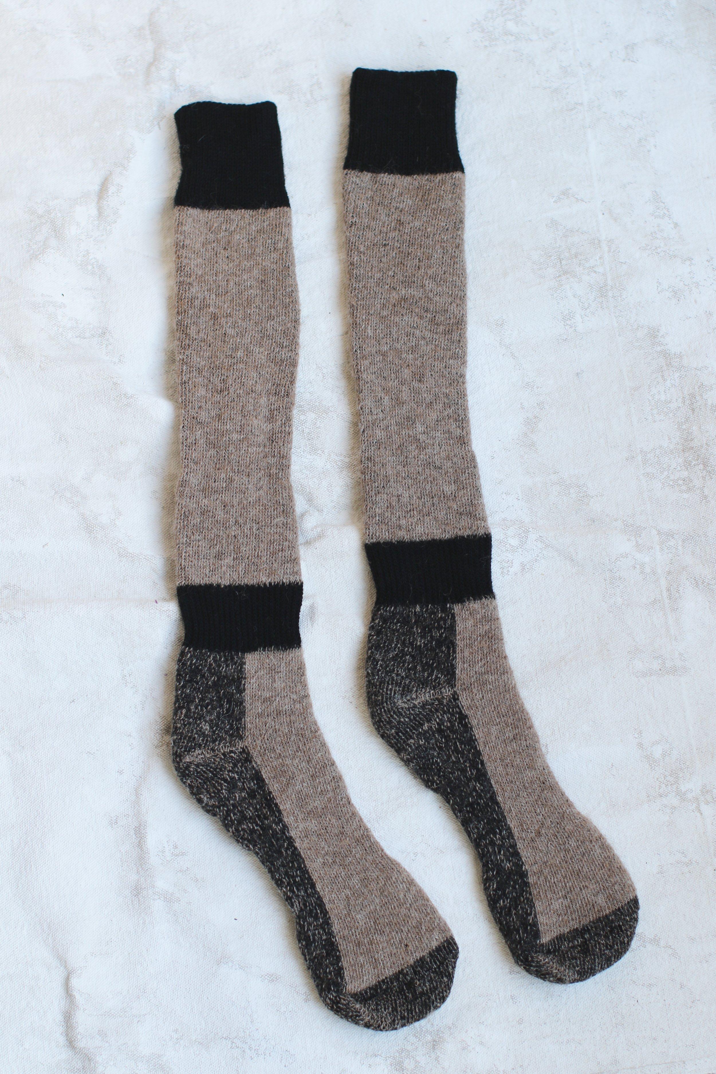 Alpaca Boot Socks $35