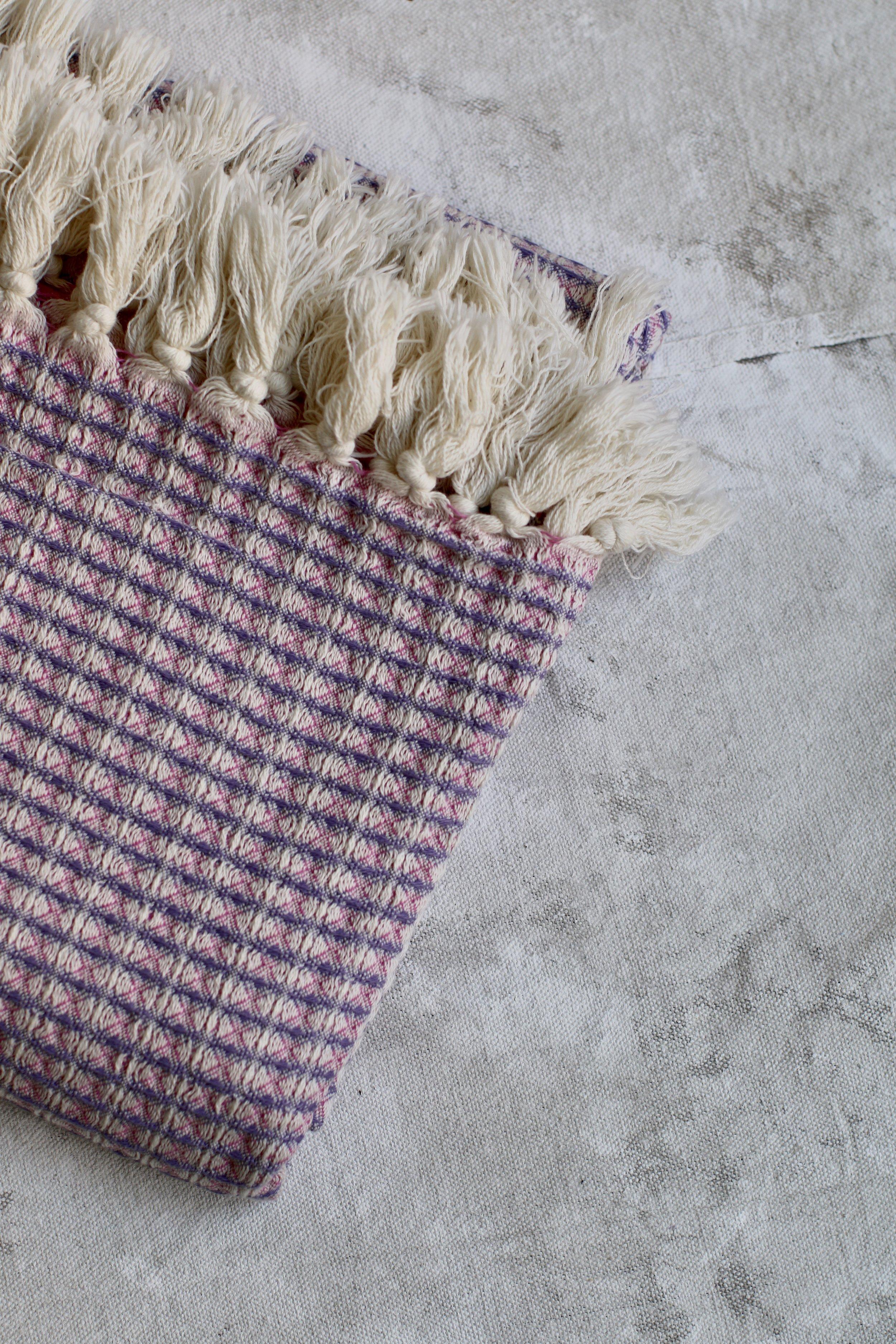 Pestemal - Hex Weave - pink $76