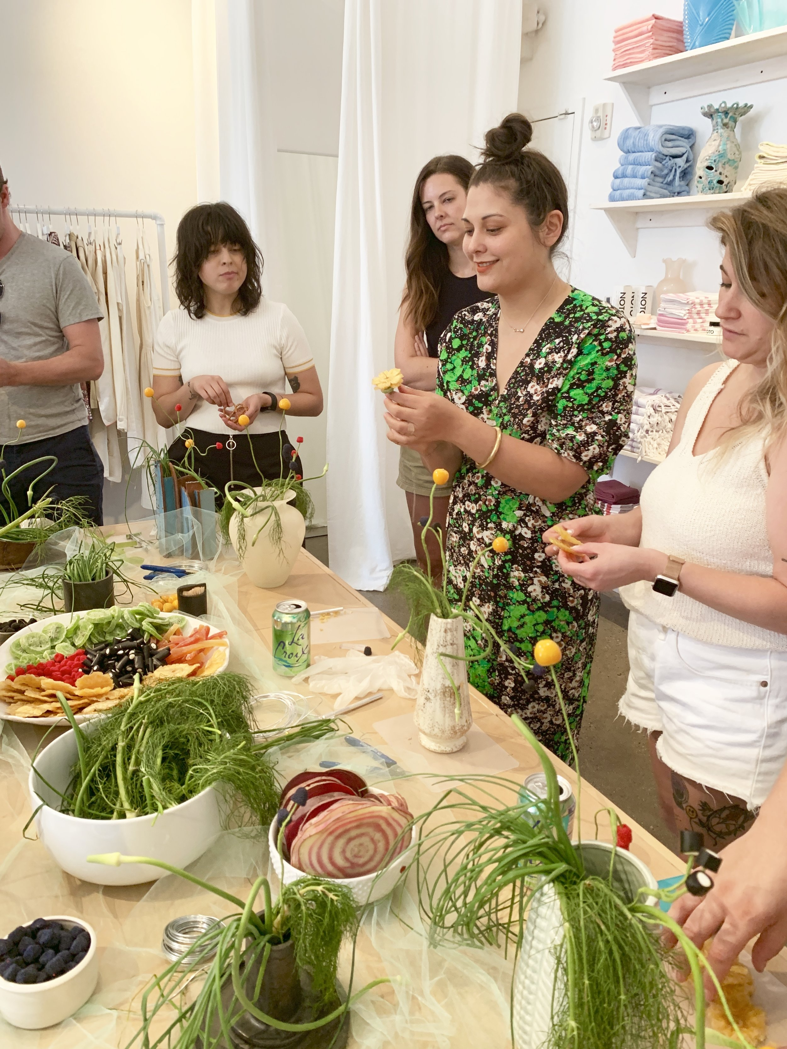 Workshop: Edible Ikebana
