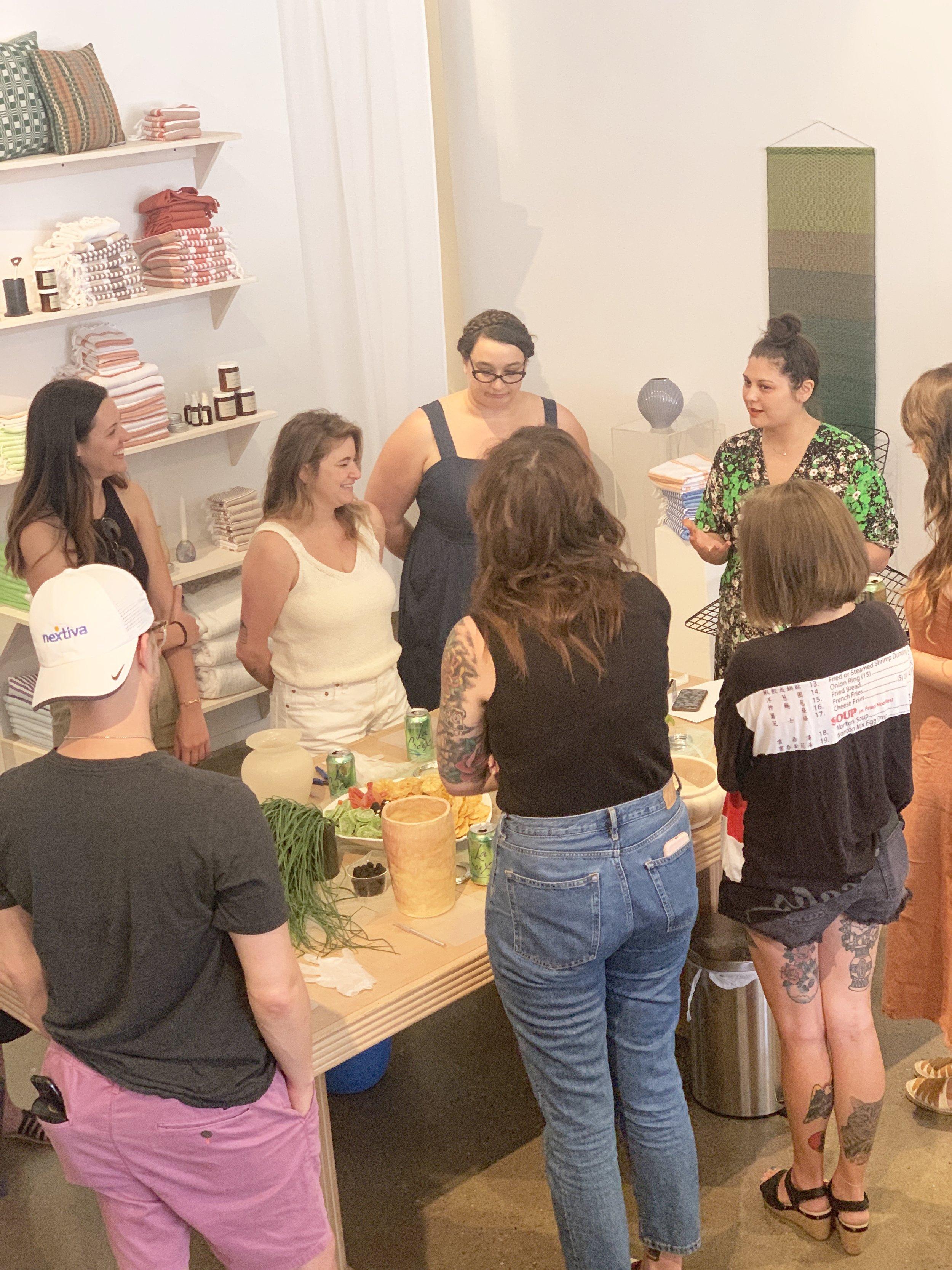 Edible Ikebana Workshop