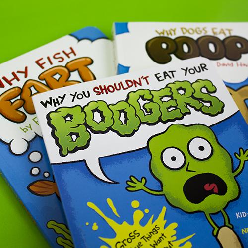 Booger Poop Fart Book Illustrations