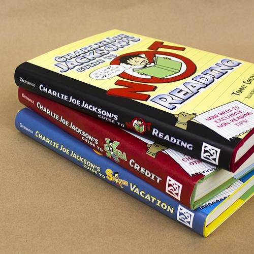 Charlie Joe Jackson Book Series
