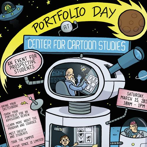 CCS Portfolio Day Poster
