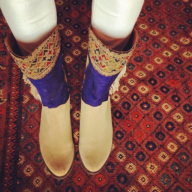 Wedding boots.