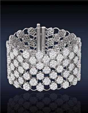 Diamond Mesh Bracelet  90710451