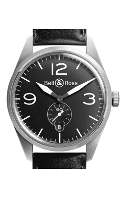 Bell and Ross Vintage BR Automatic Watch BR123 Original Black   CALL US: 312-944-3100