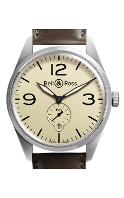 Bell and Ross Vintage BR Automatic Watch BR123 Original Beige   CALL US: 312-944-3100