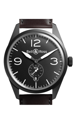 Bell and Ross Vintage BR Automatic Watch BR123 Original Carbon   CALL US: 312-944-3100