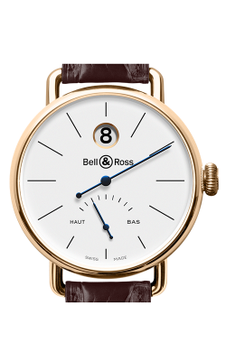 Bell and Ross Vintage Watch WW1 Pink Gold   CALL US: 312-944-3100