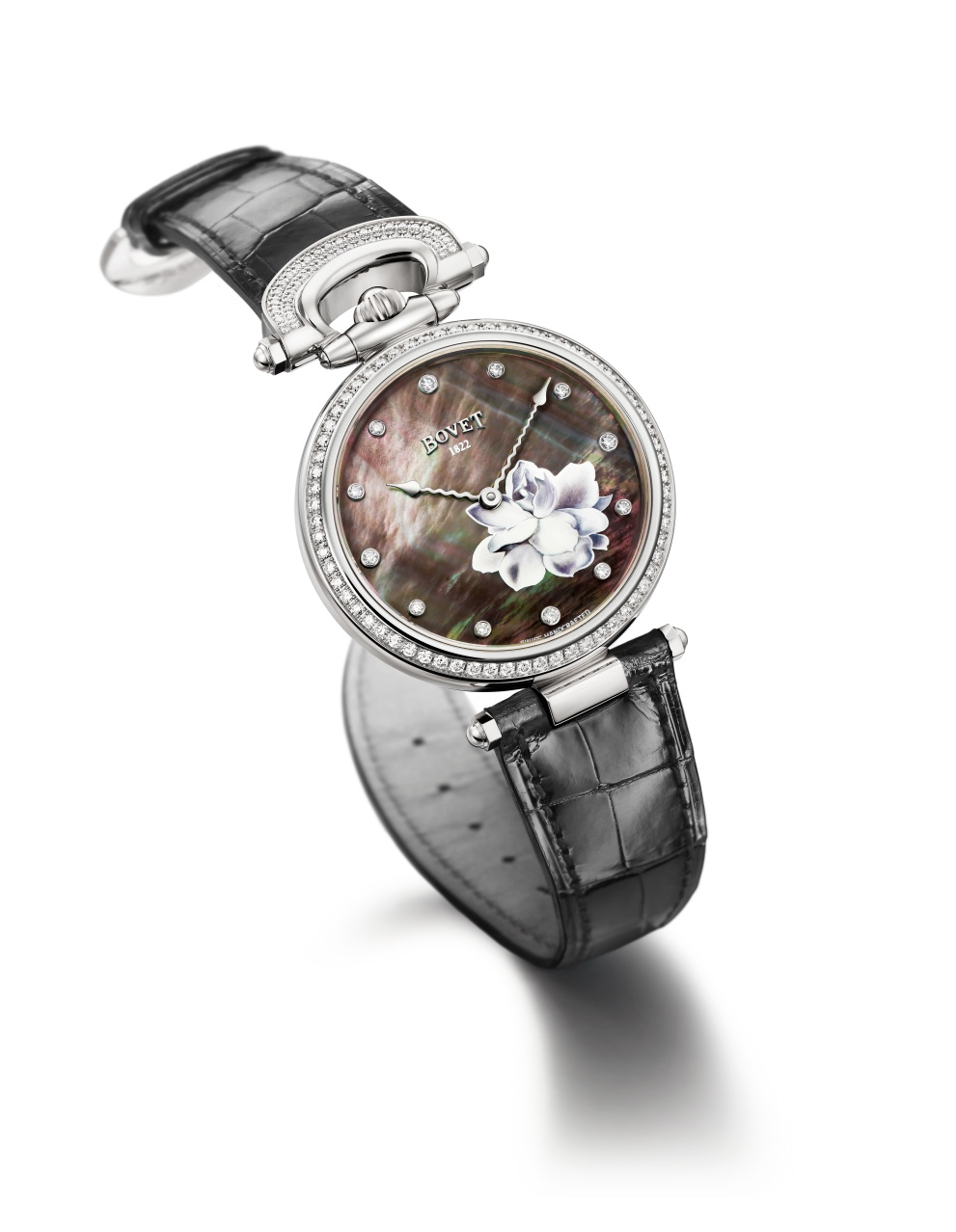Bovet Watch   Chateau De Motiers   Ref. Nr. HMS061-SD12-L    Call 312-944-3100  | For Availability