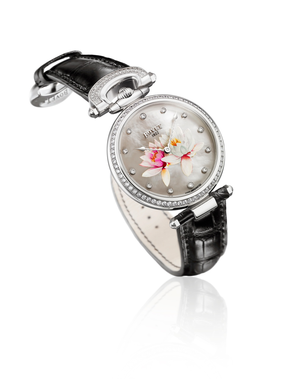 Bovet Watch   Chateau De Motiers   Ref. Nr. HMS027-SD12-L    Call 312-944-3100  | For Availability